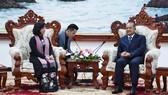 Đoàn cán bộ Tuyên giáo TPHCM giao lưu, trao đổi kinh nghiệm tại CHDCND Lào