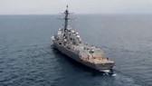 Tàu chiến Mỹ tuần tra ở biển Đông