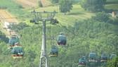 Khu du lịch quốc gia núi Bà Đen được đầu tư hệ thống cáp treo  theo tiêu chuẩn châu Âu