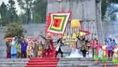 Tái hiện hình ảnh Nguyễn Huệ lên ngôi Hoàng đế