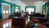 Bị cáo Nguyễn Thị Loan tại phiên tòa