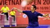 tay vợt số 1 Việt Nam Nguyễn Tiến Minh. Ảnh: DŨNG PHƯƠNG