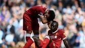 Liverpool thua nặng vì không thích ứng với việc mất Sadio Mane hơn là vì phải chơi thiếu người. Ảnh: Getty Images