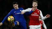 Alvaro Morata (trái) là nguyên nhân khiến Chelsea phải chấp nhận kết quả hòa. Ảnh: Getty Images