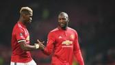 Romelu Lukaku (phải) được biết có tình bạn thân thiết với Paul Pogba. Ảnh: Getty Images