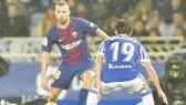 Alba cùng đồng đội đã có chiến thắng trước Celta. Ảnh: Getty Images