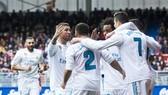 Real là đội bóng tấn công tốt nhất châu Âu đầu năm 2018. Ảnh: Getty Images