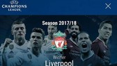 UEFA bất ngờ thông báo Liverpool sẽ là nhà vô địch Champions League mùa giải này. Ảnh: Daily Mail
