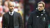 Jurgen Klopp (phải) thật sự giỏi hơn Pep Guardiola? Ảnh: Getty Images