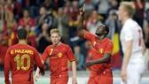 """""""Tam tấu"""" nguy hiểm Eden Hazard, Kevin De Bruyne và Romelu Lukaku (phải) của """"Quỷ đỏ"""" Bỉ. Ảnh: Getty Images"""