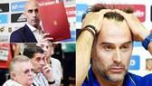 """Lopetegui (phải) đã bị sa thải sau khi """"đi đêm"""" với Real. Ảnh: Marca"""
