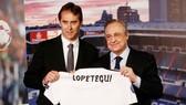 Lopetegui đã có buổi ra mắt Real. Ảnh AS.