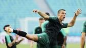 Ronaldo và đồng đội đã sẵn sàng đánh bại Tây Ban Nha. Ảnh Getty Images
