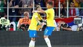 Silva không có bất đồng với Neymar như báo chí đồn đoán. Ảnh Reuters.