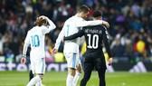Ronaldo đi, Neymar cũng không đến được với Real. Ảnh: Getty Images