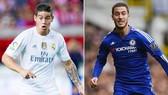 James và Hazard đều muốn đến Real.