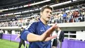 HLV Mauricio Pochettino trong chuyến du đấu của Tottenham. Ảnh: Getty Images