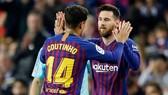 Philippe CoutinhoCoutinho chơi cực tốt với Messi trong thời gian gần đây. Ảnh: Getty Images