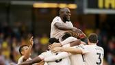 Romelu Lukaku tiếp tục phong độ ghi bàn để giúp Quỷ đỏ chiến thắng. Ảnh: Getty Images