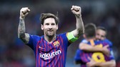 Lionel Messi đã bừng sáng trở lại để giúp Barca chiến thắng. Ảnh: Getty Images