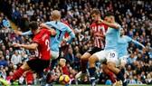 Man.City trình diễn thứ năng lực tấn công mà Southampton không thể chống đỡ. Ảnh: Getty Images