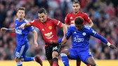 """""""Hàng thừa"""" Matteo Darmian (trái) liệu sẽ là trụ cột của Man.United trước Arsenal? Ảnh: Getty Images"""