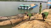 Công an tỉnh Đồng Nai phát hiện và bắt giữ một vụ khai thác cát trái phép trên sông Đồng Nai
