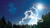 Máy bay suýt đâm UFO