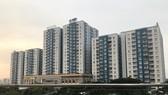 Hiện nhiều đối tượng được thụ hưởng chính sách nhà ở xã hội phải vay thương mại để mua nhà ở                                                           (Dự án nhà ở vừa túi tiền tại quận 8)                                 Ảnh: Huy Anh