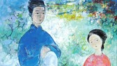 """Tác phẩm """"Idylle"""" của họa sĩ Vũ Cao Đàm  được bán với giá 33.500 USD"""