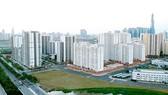 Một khu dân cư tại quận 2. Ảnh: CAO THĂNG