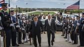 Bộ trưởng Quốc phòng Mỹ James Mattis (phải) và người đồng cấp Thái Lan Prawit Wongsuwon. Nguồn: SFREP.COM