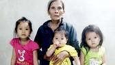 Vợ chồng cùng bệnh nặng, 3 con thơ bơ vơ
