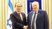 Bí thư Thành ủy TPHCM Nguyễn Thiện Nhân hội kiến Tổng thống Israel Reuven Rivlin