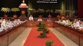Khai mạc Hội nghị lần thứ 17 Ban Chấp hành Đảng bộ TPHCM khóa X
