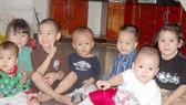 """Những đứa trẻ khỏe mạnh, hồn nhiên được sinh ra và lớn lên trong """"Nhà của bố"""". Ảnh: NGỌC PHÚC"""