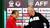 """Trận đấu với Philippines có thể xem như """"lằn ranh lịch sử"""" của ĐTVN dưới thời HLV Park Hang-seo. Ảnh: MINH HOÀNG"""