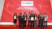 FE Credit xếp hạng 11 trong top 500 doanh nghiệp tư nhân lợi nhuận tốt nhất Việt Nam