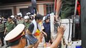 Các học viên tham gia gây rối ngày 7-11-2016 tại Cơ sở Điều trị nghiện ma túy tỉnh Đồng Nai  