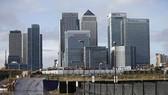 Trung tâm tài chính London gồm văn phòng của các ngân hàng HSBC, Citigroup, JPMorgan Chase, Barclays...