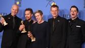 Đoàn phim Three Billboards Outside Ebbing, Missouri  thắng lớn tại Giải thưởng Quả cầu vàng năm nay. Ảnh: Reuters