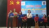 Tổng công ty thương mại Sài gòn (SATRA) giao lưu với Chị đội Kiểm ngư số 2 tại TP Vũng Tàu