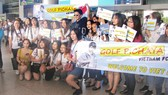Ngôi sao Thái Lan Golf Pichaya Nitipaisankul được chào đón nồng nhiệt  khi đến Việt Nam