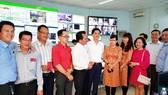 Lãnh đạo Sở GTVT TPHCM thăm và làm việc đầu xuân mới  với TTQLGTCC