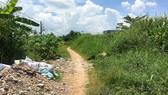 Nhà cửa, vườn tược của người dân đã bị treo 26 năm  trong khu đô thị Thăng Long