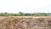 San lấp mặt bằng trái phép gây ngập úng đất nông nghiệp