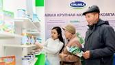 Sản phẩm sữa Việt đã có mặt tại thị trường Nga