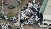Siêu bão Jebi tiếp tục gây thiệt hại tại miền Tây Nhật Bản