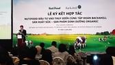 Nutifood hợp tác cùng tỷ phú Thụy Điển sản xuất sữa