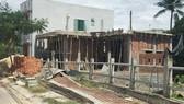 Một ngôi nhà xây dựng trái phép tại TP Đà Nẵng